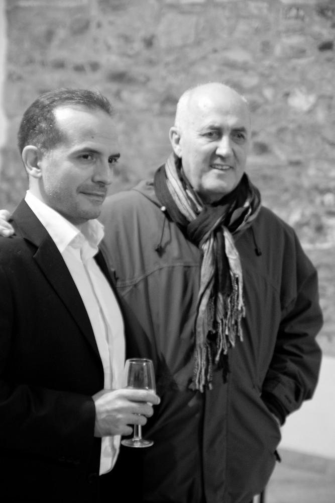 Maestra Javier Busto in Michele Joisia